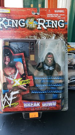 WWE ACTION FIGURE COLLECTIBLE XPAC 1999 PICKUP IN WHITTIER THANKS 😊 for Sale in Monterey Park, CA