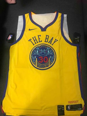 Authentic Stephen Curry The Bay City Edition Jersey 3XL for Sale in Santa Ana, CA