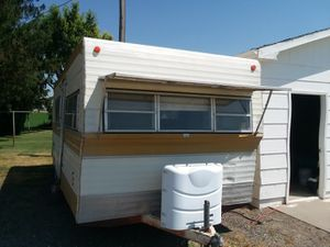Great trailer sleeps 5 or 6 needs a family 1974 24 ft security great shape for Sale in Jerome, ID