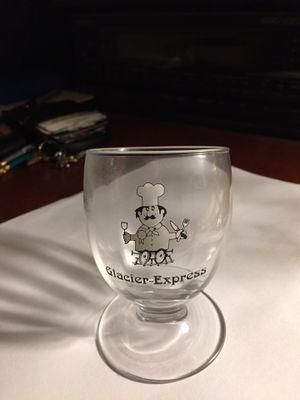 Glacier Express Vintage Tilted Swiss Glass for Sale in Scottsdale, AZ