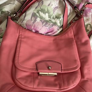 Authentic Coach Bag - Rose Pink KRISTIN LEATHER HOBO for Sale in Rosemead, CA
