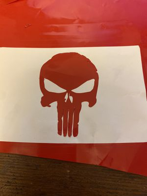 Vinyl punisher sticker for Sale in Edgewood, WA