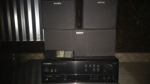 Pioneer receiver and Sony speakers for Sale in Kingsburg, CA