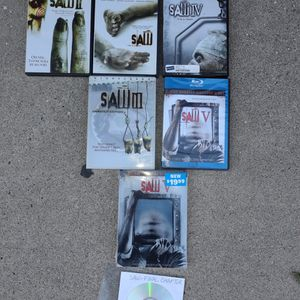 Saw DVD Collection for Sale in Fullerton, CA