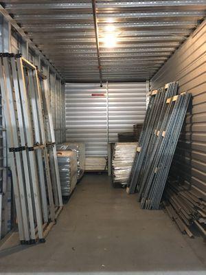 Excalibur Shelving Racks Galvanized Steel Shelves Solid Steel Lot for Sale in Irvine, CA