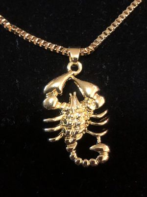 Pendant Scorpio (18kt) Plated Charm for Sale in Seattle, WA