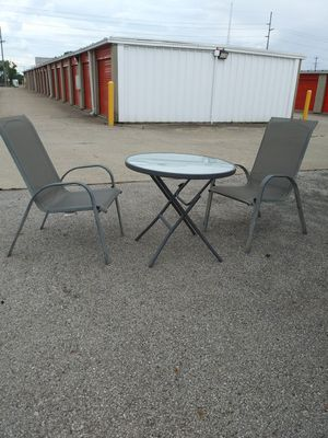 Outdoor Folding Table and Chairs for Sale in Columbus, OH