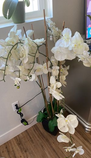 Fake orchid plant for Sale in Riverside, CA