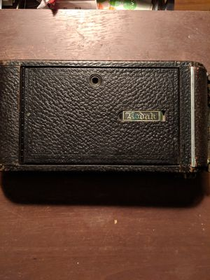 Kodak no 2c autographic Kodak jr with leather case for Sale in White City, OR