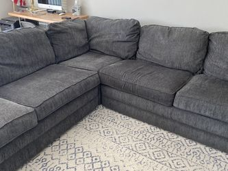 Blue/Gray La-Z-Boy Sectional Sofa for Sale in Long Beach,  CA