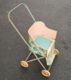 Antique Tin Baby Doll Stroller for Sale in Burlington, NC