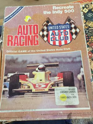 Usac auto racing game for Sale in Fort McDowell, AZ