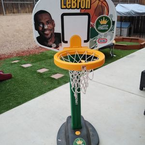 Little Tikes LeBron James Basketball Hoop for Sale in Oak Hills, CA