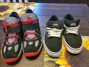 Nike air size 5 boys. Van's size 6.5 girls. for Sale in Latrobe, PA