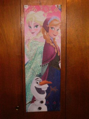 NEW DISNEY'S FROZEN PRINCESS ELSA / ANNA / OLAF WALL ART for Sale in Voorhees Township, NJ