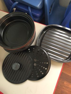Cooking pans with hot plate for Sale in Spanaway, WA