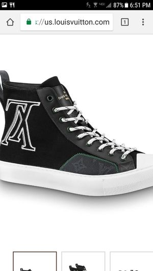 Louis Vuitton tattoo sneakers for Sale in Washington, DC