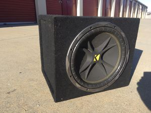 Kicker 12 inch comp subwoofer for Sale in Hayward, CA
