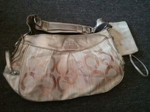 Coach purse with wristlet for Sale in Harbor City, CA