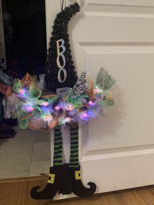 Halloween decorative wreath for Sale in Soddy-Daisy, TN