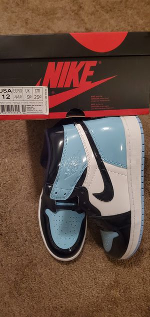 DS Jordan 1 UNC PATENT LEATHER Size 12 Women's/10.5 Men's for Sale in Vacaville, CA