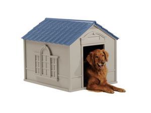 Suncast Deluxe Dog House-Large 33x38.5x32 for Sale in Jenkintown, PA