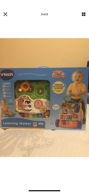 BRAND NEW - VTech 5 Piano Keys Sit-to-Stand Learning Walker - Orange, SEALED for Sale in Sugar Land, TX