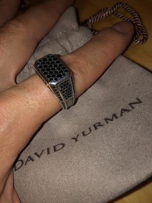 David Yurman Black Diamond Ring size 12 for Sale in Seattle, WA