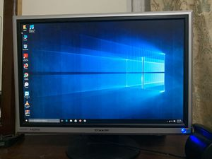 Computer monitor with hdmi desktop @$20 21 inch wide screen for Sale in Cerritos, CA