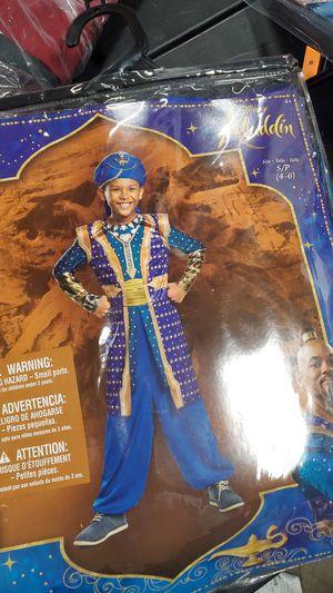 Disney Aladdin Genie costume size small 4 to 6 for Sale in Riverside, CA