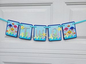 Baby shark high chair banner for Sale in Inglewood, CA