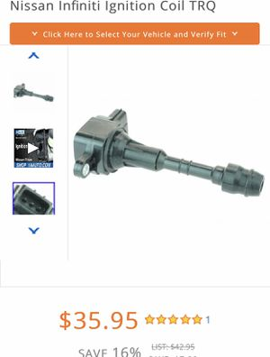 4 new Ignition Coils fits 2004-2006 infinity QX56 Nissan Armada Nissan Pathfinder Nissan Titan for Sale in Fort Lauderdale, FL