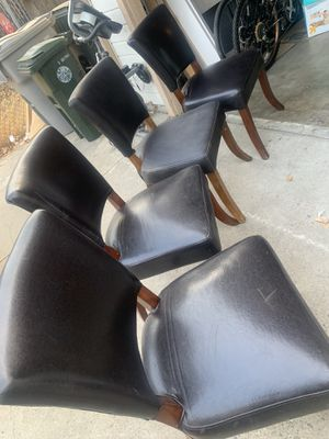 Leather chairs for Sale in Sacramento, CA