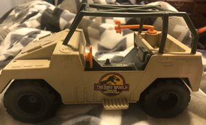 JURASSIC PARK THE LOST WORLD NET TRAPPER JEEP VEHICLE CAR for Sale in Rensselaer, NY