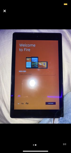 Kindle Fire HD 8 for Sale in Novato, CA