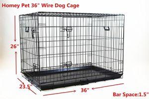 """36"""" Premium 2 Door Wire Crate for Sale in Riverside, CA"""