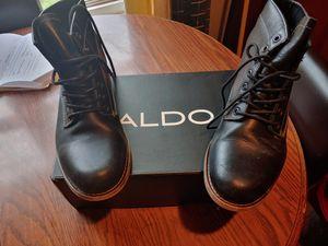 Aldo's men Black Boots size 9 for Sale in Gaithersburg, MD