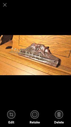 Vintage 1940's Flying Geese/Gun Syroco Wood Tie Belt Rack for Sale in Lynchburg,  VA