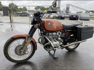 1977 BMW R100 Motorcycle 70.000miles one owner Works great for Sale in Orlando, FL