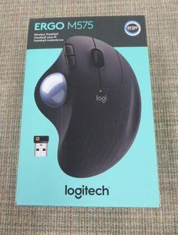 BRAND NEW SEALED Logitech Ergo M575 Wireless Trackball Mouse Bluetooth Ergonomic for Sale in Glendale,  CA