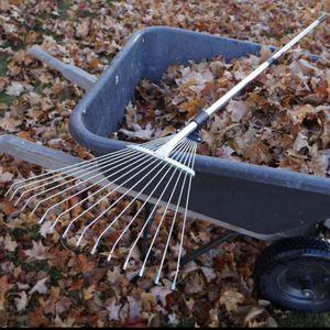 "58"" Leaf Rake Garden Rake Leaves for Sale in Ontario, CA"