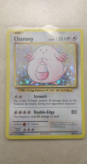 Chansey Holo Pokemon Card***Read Description*** for Sale in Melbourne, FL