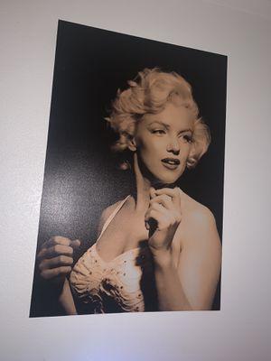 Marilyn Monroe Canvas for Sale in Riverside, CA