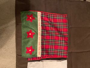 Holiday table runners for Sale in Bristow, VA