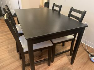 IKEA Dining table with 4 chairs for Sale in Boston, MA