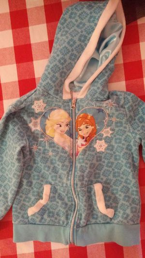 Frozen jacket, girls clothes, 5t for Sale in Victorville, CA