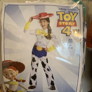 Disney toy story Jesse costume size 7/8 with wig for Sale in Bonney Lake, WA