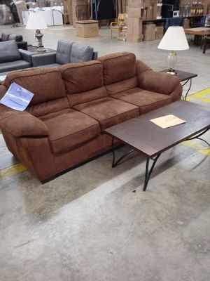 Laramie Sofa Coffee Table end table lamp for Sale in Greensboro, NC