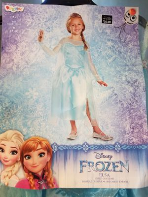 """Brand new girl's Halloween costume """"Elsa"""" for Sale in Brook Park, OH"""