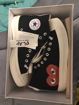 CDG PLAY Comme Des Garçon Nike Converse Size 9 in Men's for Sale in Annandale, VA